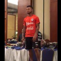 [VIDEO] En medio del humor, se dio la bienvenida a Leonardo Valencia a la Selección