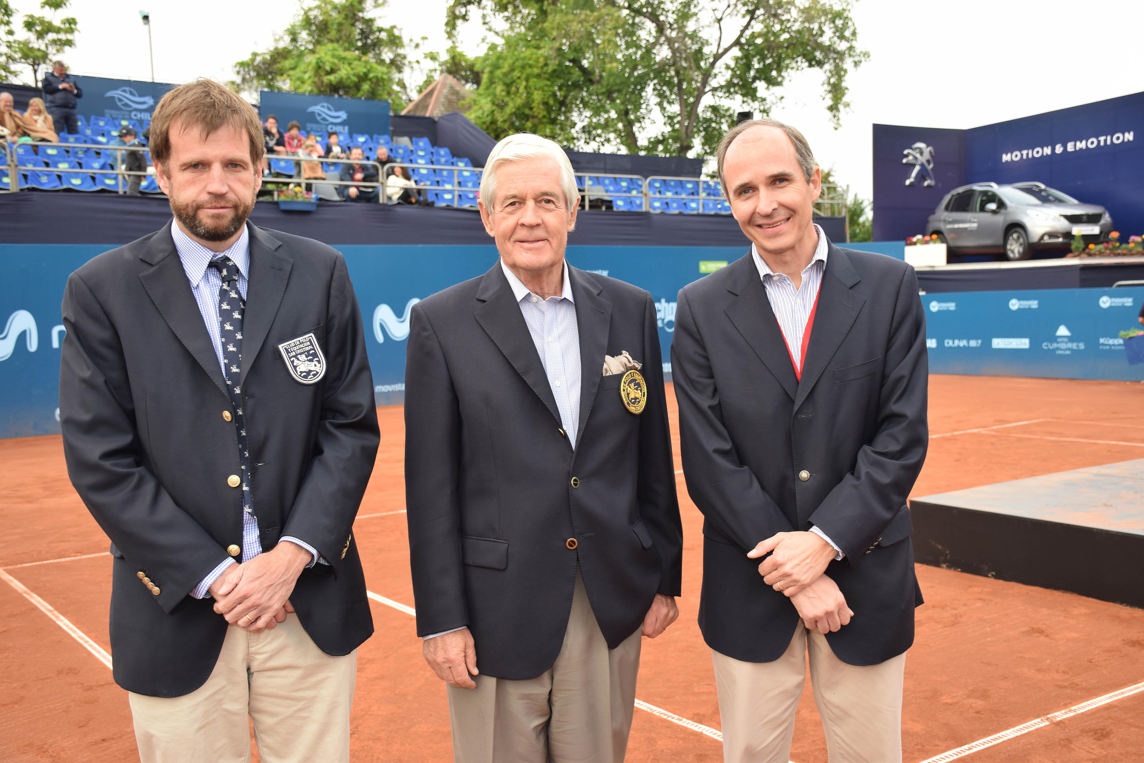 Manuel Achurra, Alejandro Banados y Rodrigo Robles