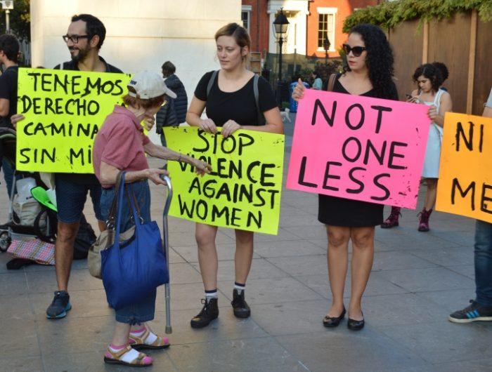 [FOTOS] El apoyo a la consigna #NiUnaMenos desde Washington Square Park en Nueva York