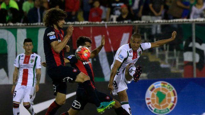 Palestino gana a San Lorenzo pero no le alcanza para avanzar en Copa Sudamericana