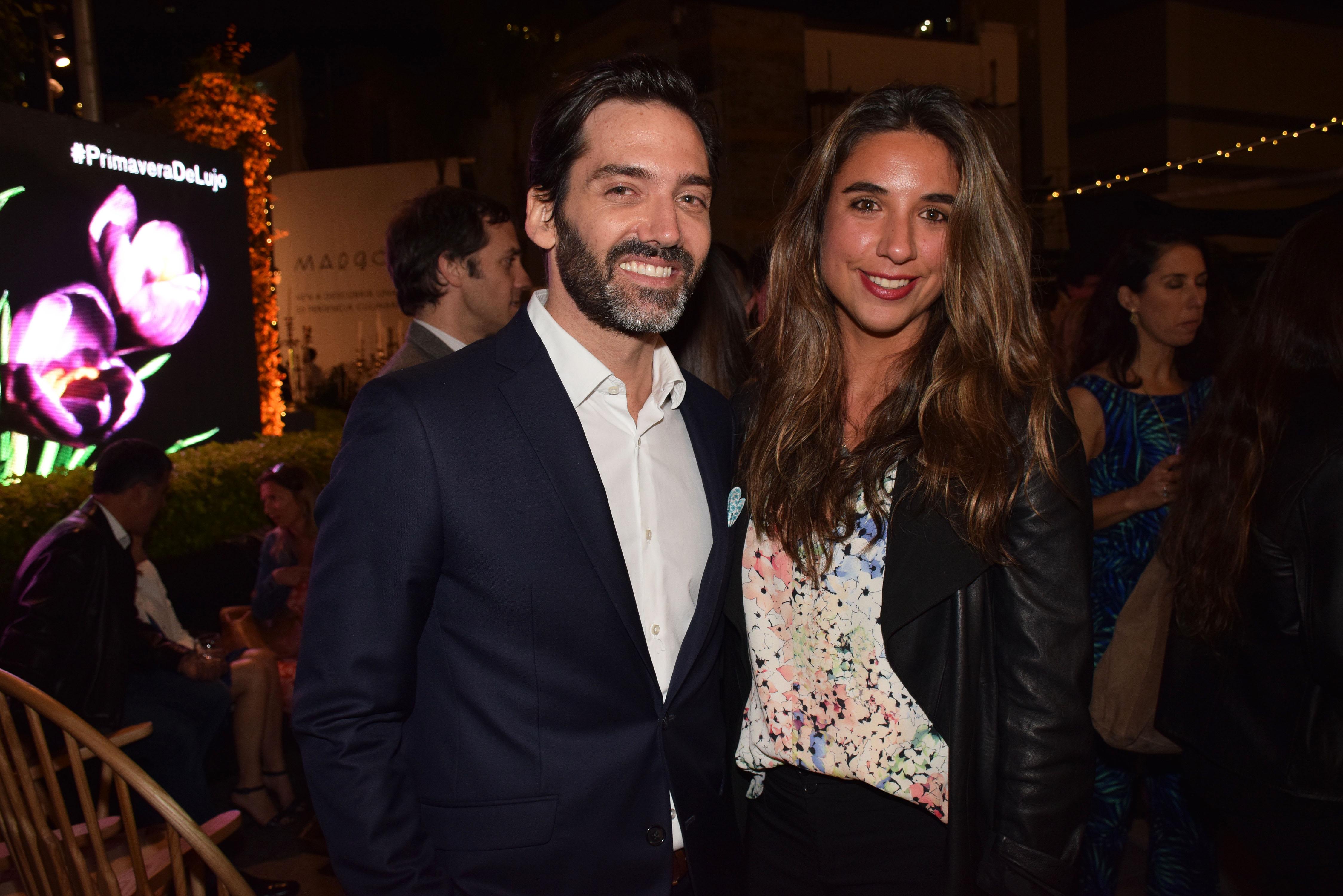 Rodrigo Bauza y Rosario Ibanez