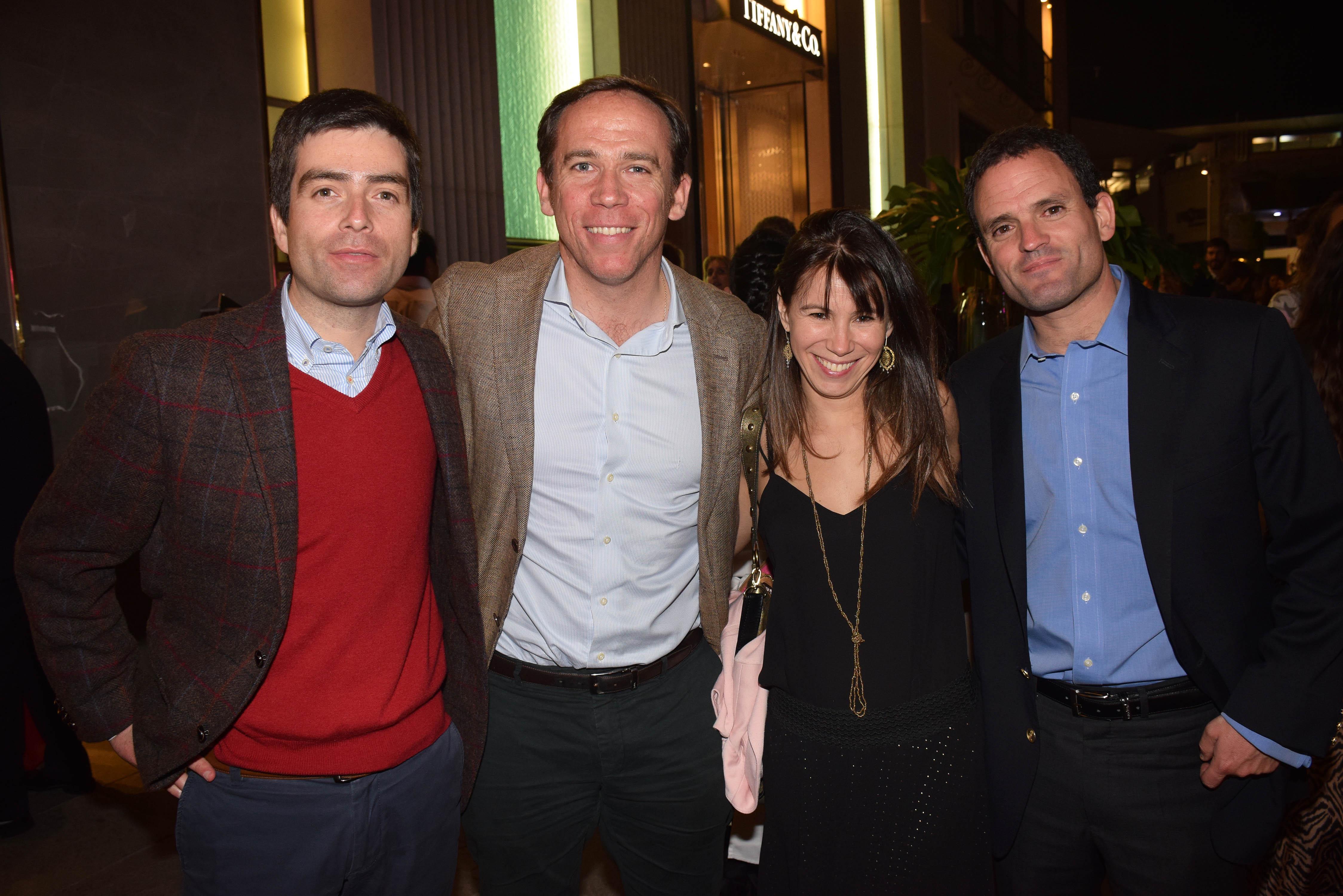 Rodrigo Urzua, Jorge Alessandri, Paula Almarza e Ignacio Garay