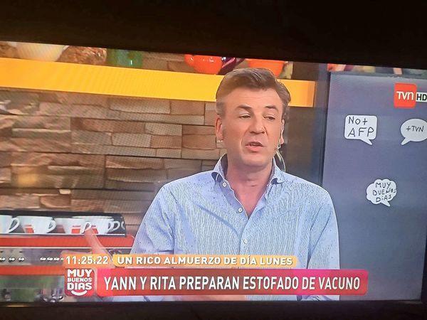 TVN No + AFP