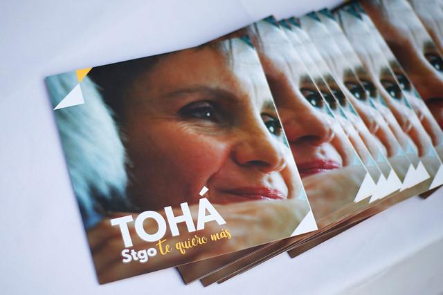 Encuestas internas encienden luz amarilla en comando de Carolina Tohá