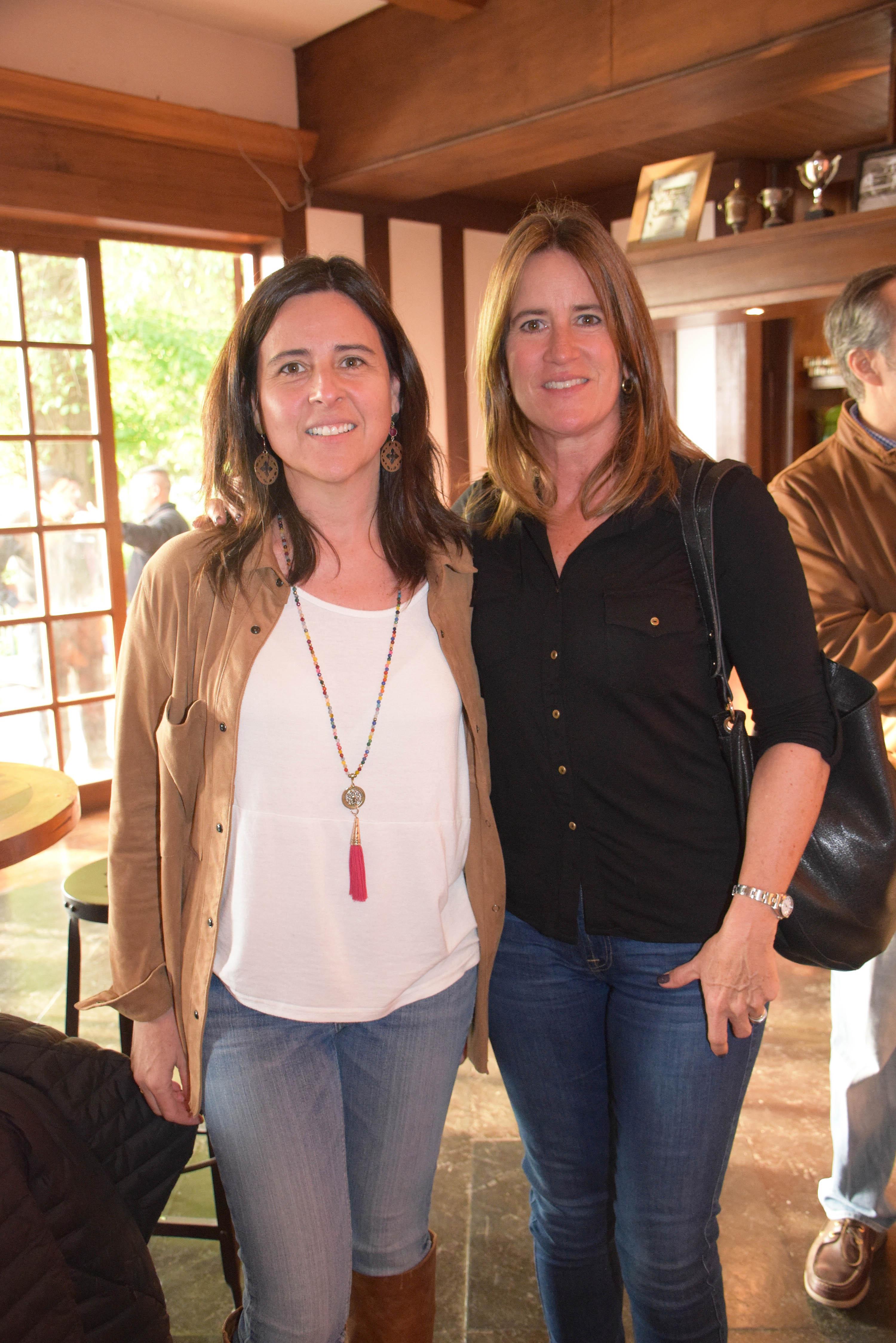Verónica Arteaga e Isabel Hughes