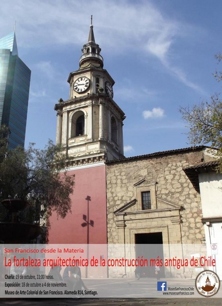Charla sobre la Iglesia San Francisco en Museo de Arte Colonial San Francisco, 19 de octubre. Entrada liberada
