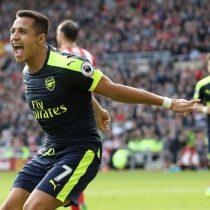 [VIDEO] Alexis vuelve a marcar en la goleada del Arsenal ante el Sunderland