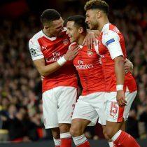 [VIDEO] El golazo de Alexis Sánchez que abrió la cuenta para el Arsenal ante el Ludogorets en la Champions League
