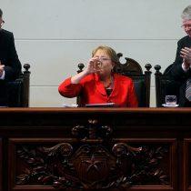[VIDEO] La emoción de la Presidenta Bachelet tras recordar a uniformados víctimas de tortura en dictadura