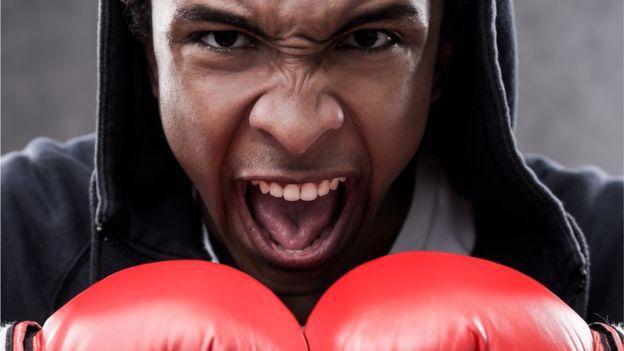 En el boxeo hay que estar moviéndose todo el tiempo.