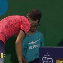 [VIDEO] El noble gesto de Grigor Dimitrov con un niño que recibió un pelotazo de su rival durante el Masters de Shanghai