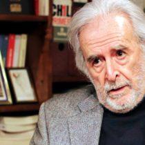 Académico y diplomático José Rodríguez Elizondo obtiene el Premio Nacional de Humanidades