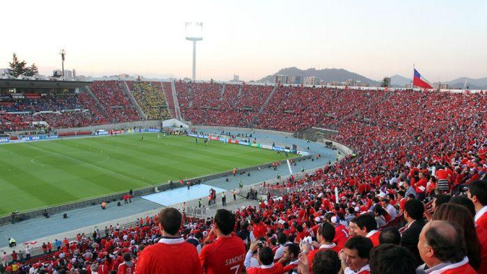 La Roja no podrá jugar de local en el Estadio Nacional ante Venezuela