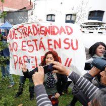 [VIDEO] La funa docente a la votación de Tohá en Santiago por polémica represión a estudiantes en toma