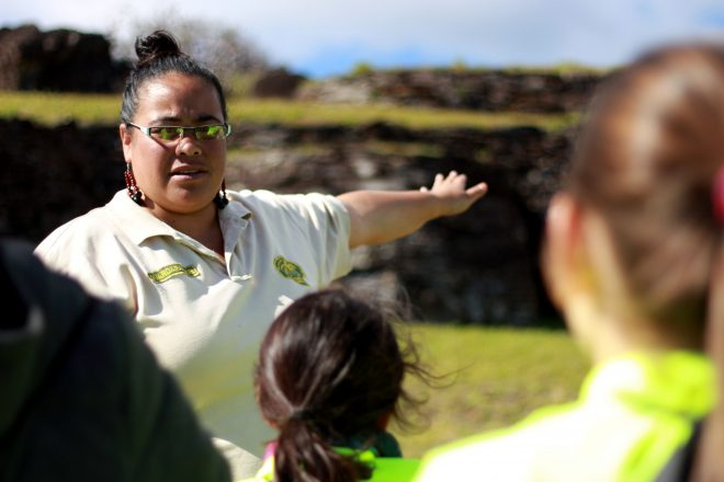 Los nuevos tiempos que viven los guardaparques del Parque Nacional Rapa Nui