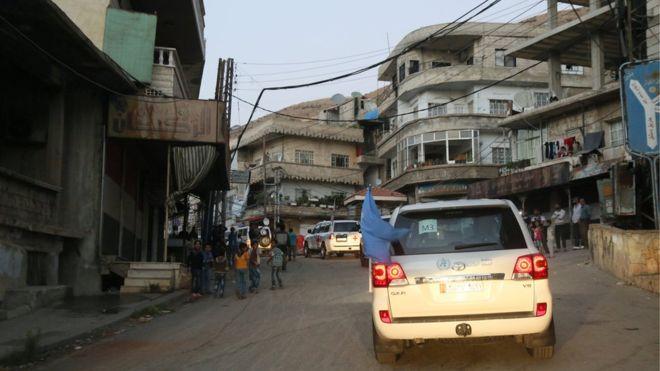 Madaya no había recibido ayuda humanitaria desde abril.