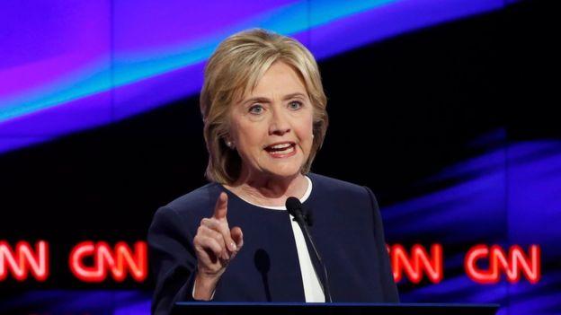 Clinton ha participado en varios debates organizados por CNN desde las campañas primarias.