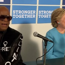 [VIDEO] Stevie Wonder dedicó