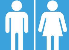 ¿Puede ser un cartel de baño sexista?