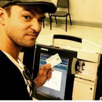 La selfie que metió en un lío a Justin Timberlake
