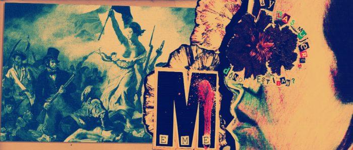 Obra «M» del Colectivo Teatral Patriamuerta en Anfiteatro Bellas Artes,  viernes de octubre