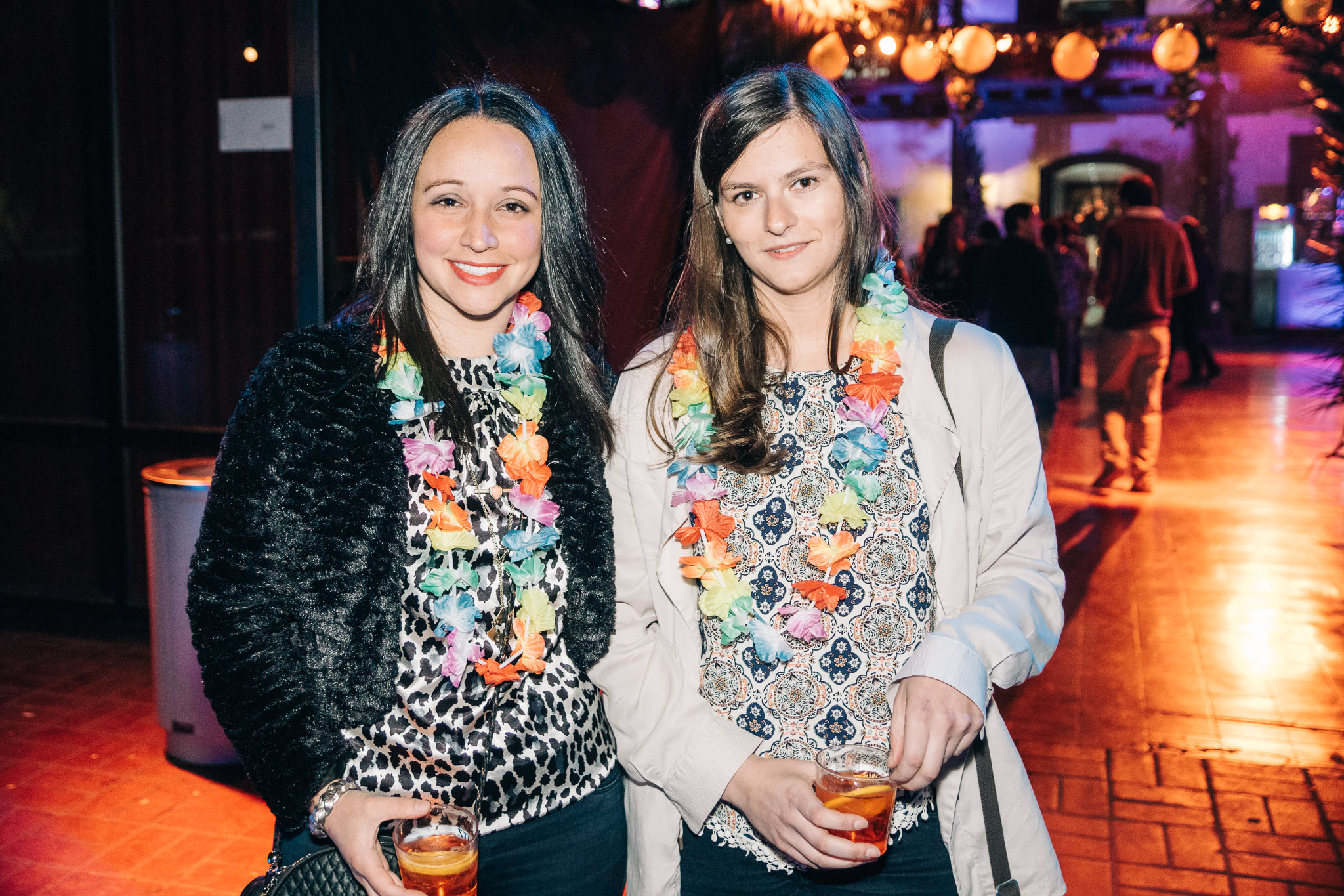 Macarena Salas y Josefina Benoit.
