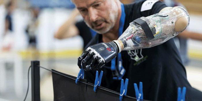 Los atletas con prótesis que van por el oro en los primeros juegos olímpicos biónicos