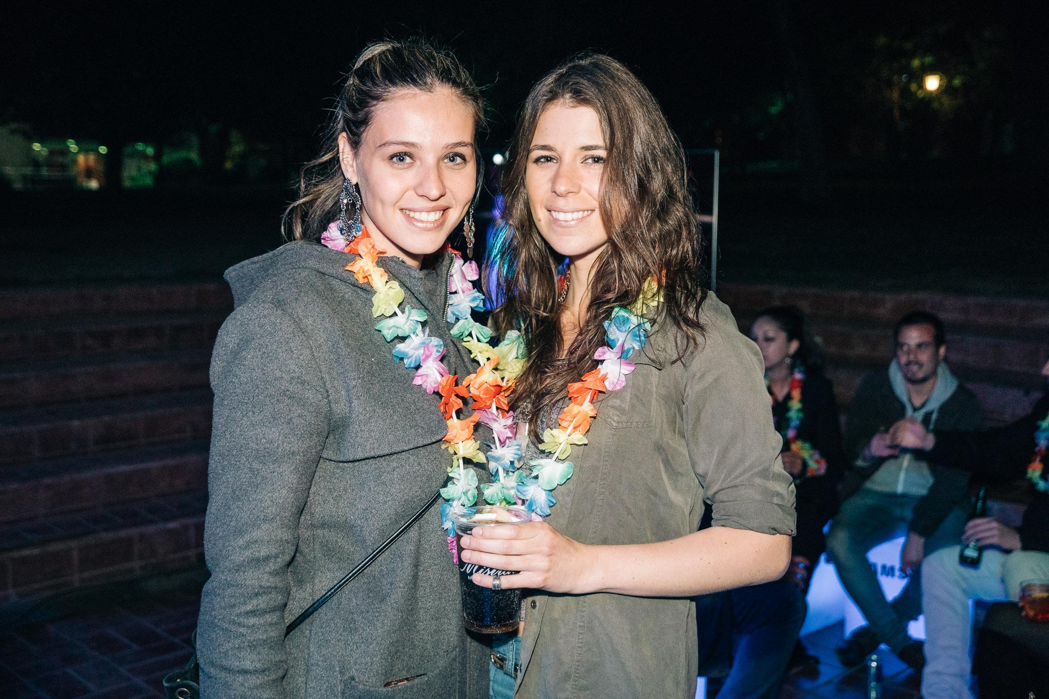 Marité Stange y Beatriz Quezada.