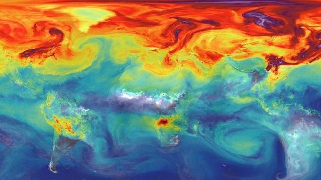 Récord de CO2 marca el inicio de una