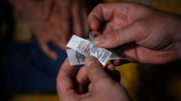 Etiquetas de Marks and Spencer fueron encontradas en una fábrica en Turquía.