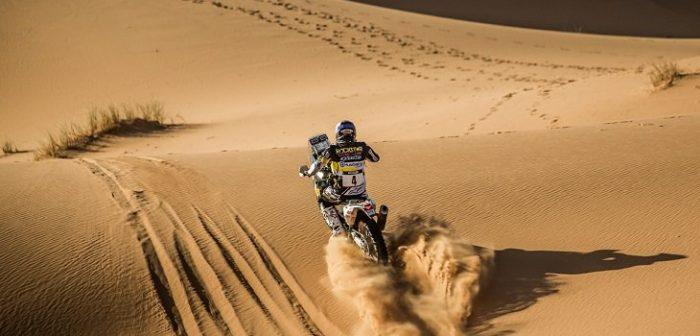 Pablo Quintanilla se corona campeón del mundo en el Rally de Marruecos