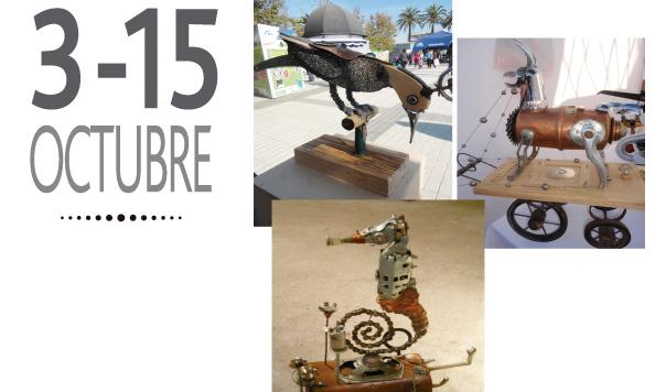 Exposición de reciclaje artístico en Cava Fray Pedro Subercaseaux, 3 al 15 de octubre