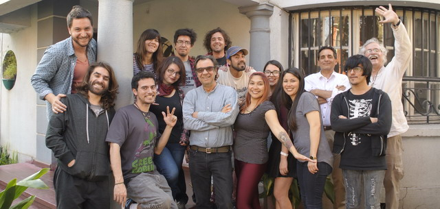 Pablo Rosenblatt y su equipo