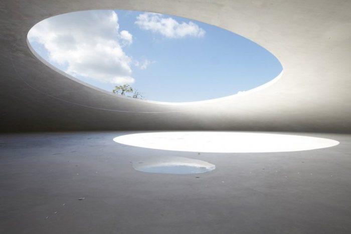 Teshima Art Museum diseñado por Ryue Nishizawa