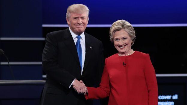 Donald Trump y Hillary Clinton debatieron el 25 de septiembre en su primer encuentro de tres que tendrán en la campaña por la Casa Blanca.