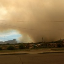 Onemi amplía cobertura de Alerta Roja a Maipú por incendios forestales