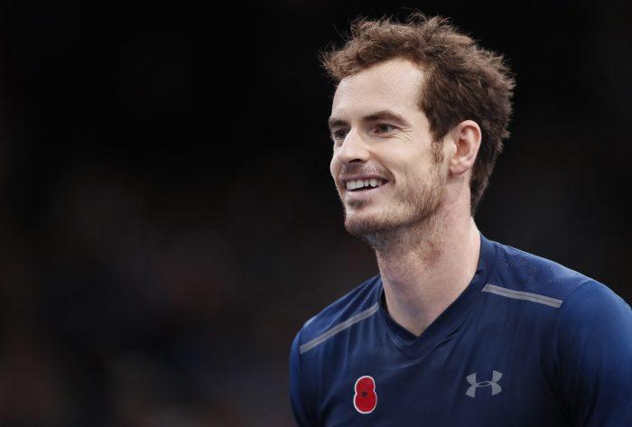Tenis: Andy Murray alcanza el número 1 por la retirada de Raonic en París-Bercy