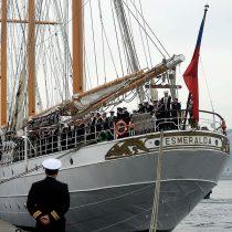 Cuatro marinos de la Esmeralda sorprendidos fumando marihuana son repatriados