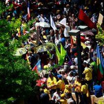 No+AFP: miles de personas marcharon por el centro de Santiago y el resto del país