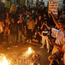 Estallan protestas anti-Trump en principales ciudades de EE.UU.