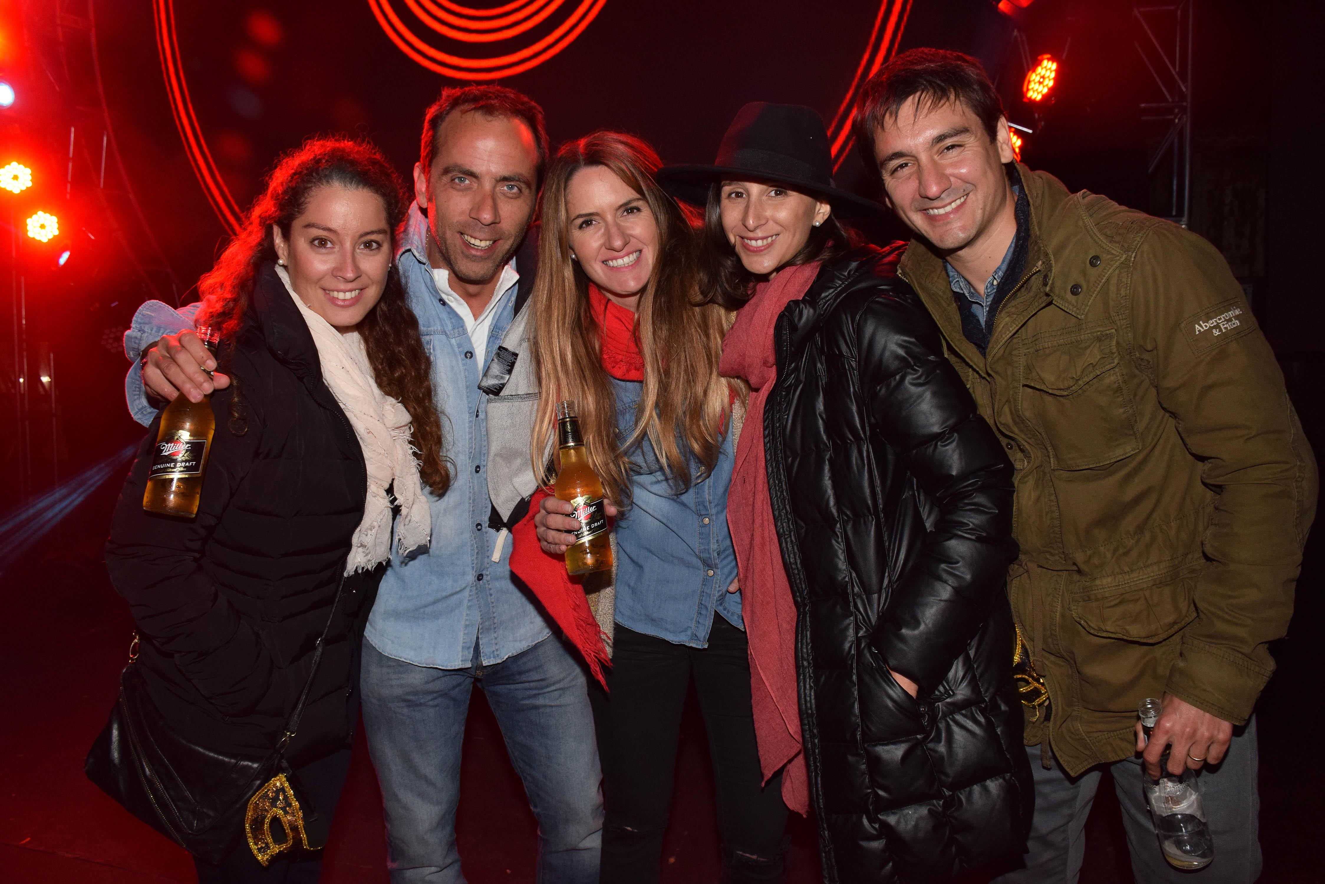 Constanza San Martín, Diego Fuenzalida, Andrea Pesce, Camila Silva y Jorge Talbot