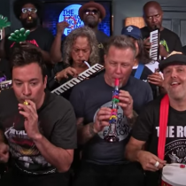 [VIDEO C+C] Jimmy Fallon, Metallica & The Roots cantan