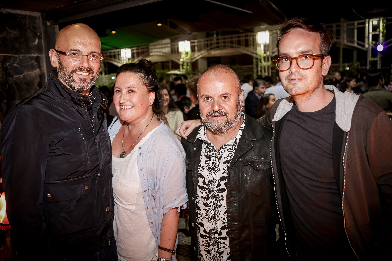 JosÇ Salkeld, Lucy Willson, Gino Falcone, Sebasti†n Fontbona