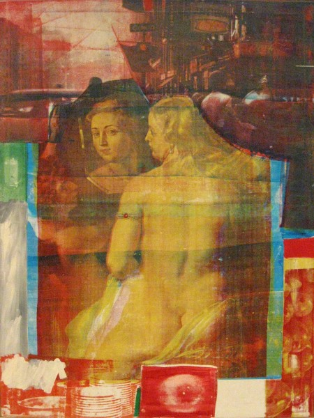 """Persimmon,"" by Robert Rauschenberg, 1964"