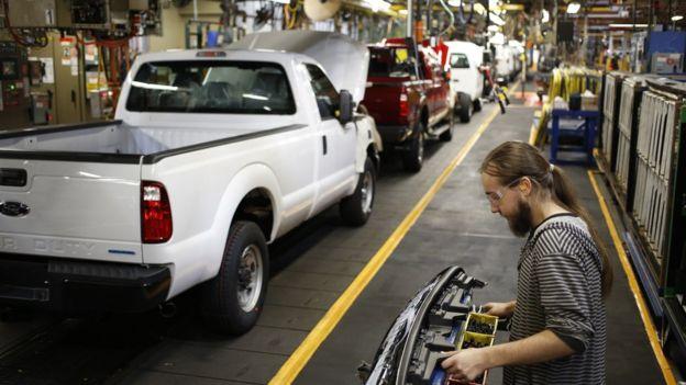 Trump ha prometido recuperar el empleo en los estados del antiguo cinturón industrial de Estados Unidos.