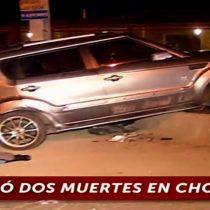 Condenan a 10 años de cárcel a conductor que iba ebrio y que protagonizó accidente donde fallecieron dos personas