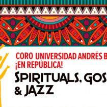 """Coro UNAB """"Spirituals Gospel &Jazz en República"""" en Campus República UNAB"""