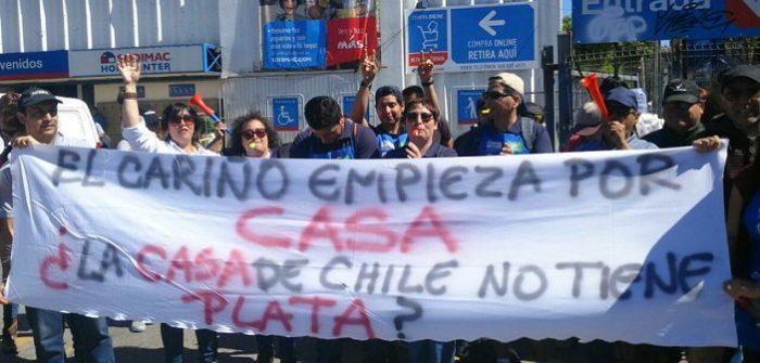 Homecenter Sodimac: 8 mil trabajadores continúan en huelga por reajuste de salarios