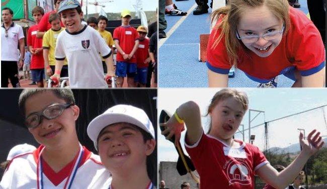 Este sábado se realiza un nuevo Torneo Interlescolar Inclusivo de atletismo