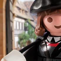 La versión Playmobil de Martín Lutero causa furor en Alemania
